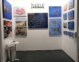The Artist Project 2017 Nadia Lassman booth 438 Picture