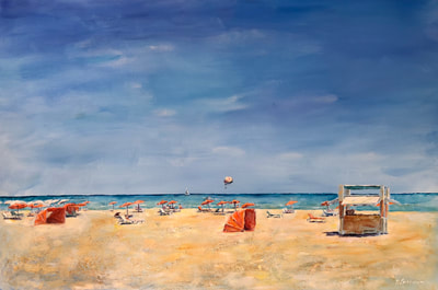 sunny beach painting miami florida